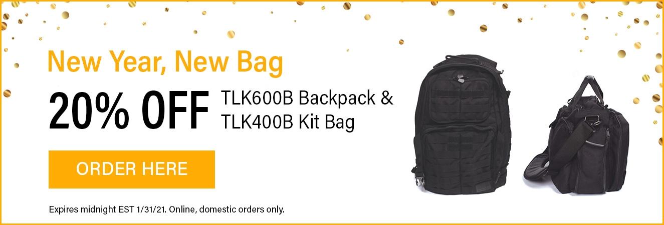 Backpack & Kit Bag Promo!